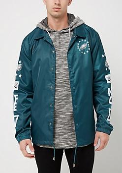 Philadelphia Eagles Logo Coaches Jacket