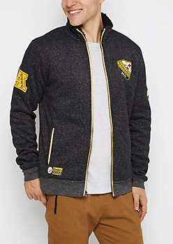 Pittsburgh Steelers Sherpa Track Jacket