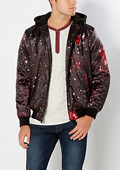 Chicago Bulls Galaxy Bomber Jacket