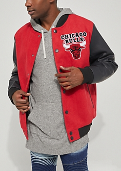Chicago Bulls Wool Varsity Jacket