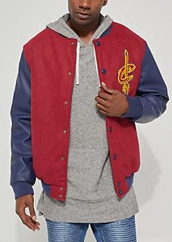 Cleveland Cavaliers Wool Varsity Jacket