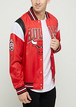 Chicago Bulls Ripstop Bomber Jacket