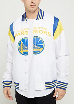 Golden State Warriors Ripstop Bomber Jacket