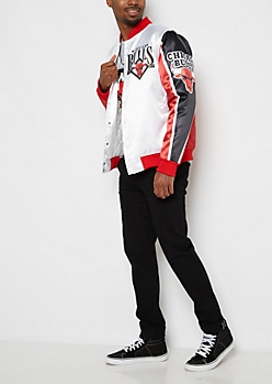 Chicago Bulls Color Block Bomber Jacket