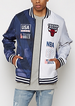 Chicago Bulls Patchwork Track Jacket