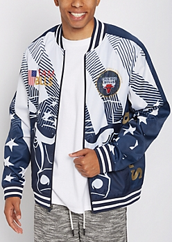 Chicago Bulls Foiled Track Jacket
