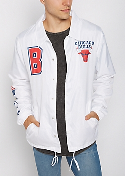 Chicago Bulls Button Down Jacket