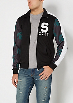 Michigan State Spartans Track Jacket