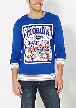 Florida Go Gators Splattered Sweatshirt