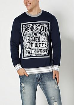 Penn State Fight On State Splattered Sweatshirt