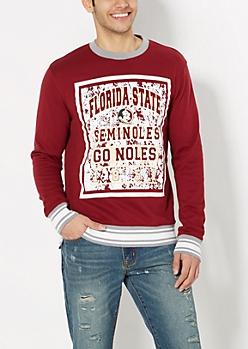 Florida State Go Noles Splattered Sweatshirt
