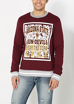 Arizona Fear The Fork Splattered Sweatshirt