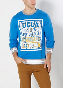 UCLA Fight Fight Fight Splattered Sweatshirt
