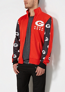 Georgia Bulldogs Track Jacket