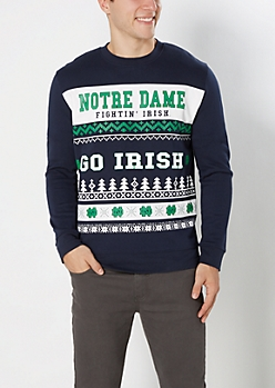 Notre Dame Fightin' Irish Ugly Holiday Sweatshirt