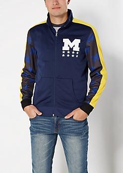 University of Michigan Track Jacket