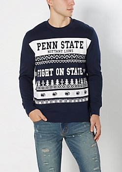 Penn State Nittany Lions Ugly Holiday Sweatshirt