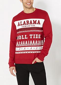 Alabama Crimson Tide Ugly Holiday Sweatshirt