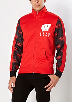 Wisconsin Badgers Track Jacket