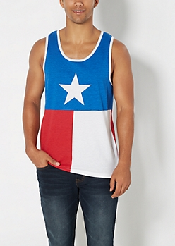 Texas Flag Tank Top