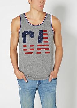 California Americana Tank Top