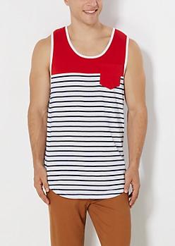 Americana Striped Tank Top