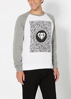 Static Raglan Sweatshirt