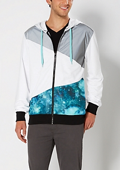 Hooded Galaxy Jacket