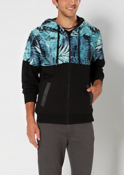 Tropical Shell Windbreaker