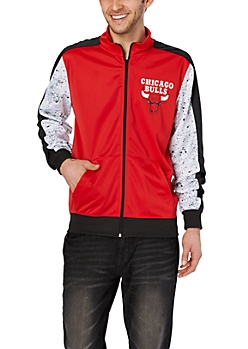 Chicago Bulls Paint Splatter Track Jacket