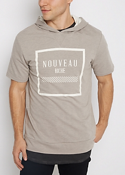 Nouveau Riche Hooded Tee