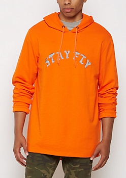 Stay Fly Cutout Hoodie