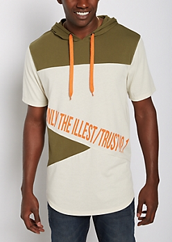 Only The Illest Hooded Tee