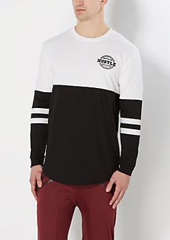Hustle Long Length Sweatshirt
