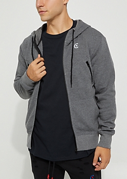 Zip Down Hoodie By Caliber