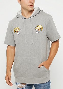 Zodiac Tiger Short Sleeve Hoodie