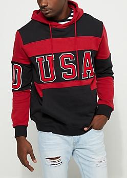 Reb & Black USA Hoodie