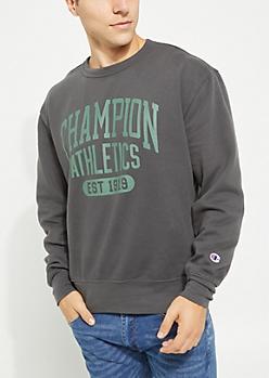 Black Heritage Fleece Sweatshirt By Champion