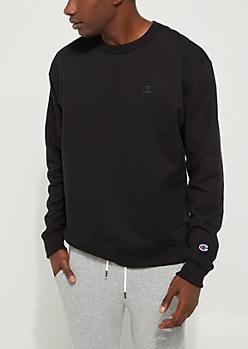 Black Powerblend Sweatshirt By Champion