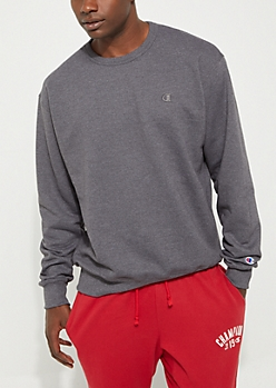 Charcoal Gray Powerblend Sweatshirt By Champion