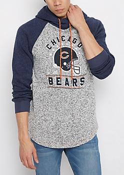 Chicago Bears Marled Raglan Hoodie