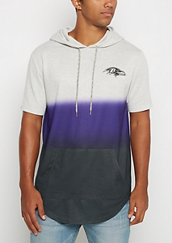 Baltimore Ravens Ombre Hoodie