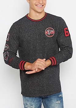 Atlanta Falcons Marled Sweatshirt