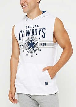 Dallas Cowboys Sleeveless Hoodie