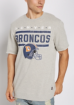Denver Broncos Raw Edge Sweatshirt