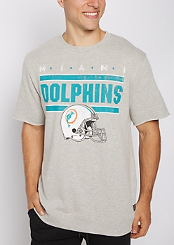 Miami Dolphins Raw Edge Sweatshirt