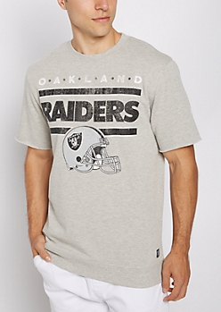 Oakland Raiders Raw Edge Sweatshirt