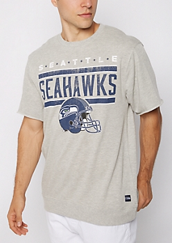 Seattle Seahawks Raw Edge Sweatshirt
