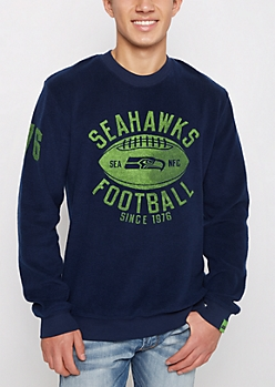 Seattle Seahawks Reversed Fleece Sweatshirt