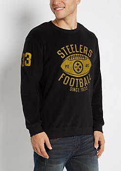 Pittsburgh Steelers Reversed Fleece Sweatshirt